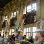 zwiedzanie klasztoru w Lubiążu przez RK ZLP w RP