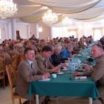 117 delegatów wypełniło salę obrad