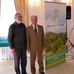 przewodniczący ZLP B. Sasin i honorowy przewodniczący J. Przybylski