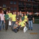 wspólne, pożegnalne zdjęcie uczestników rajdu z Nadleśnictwa Smolarz.
