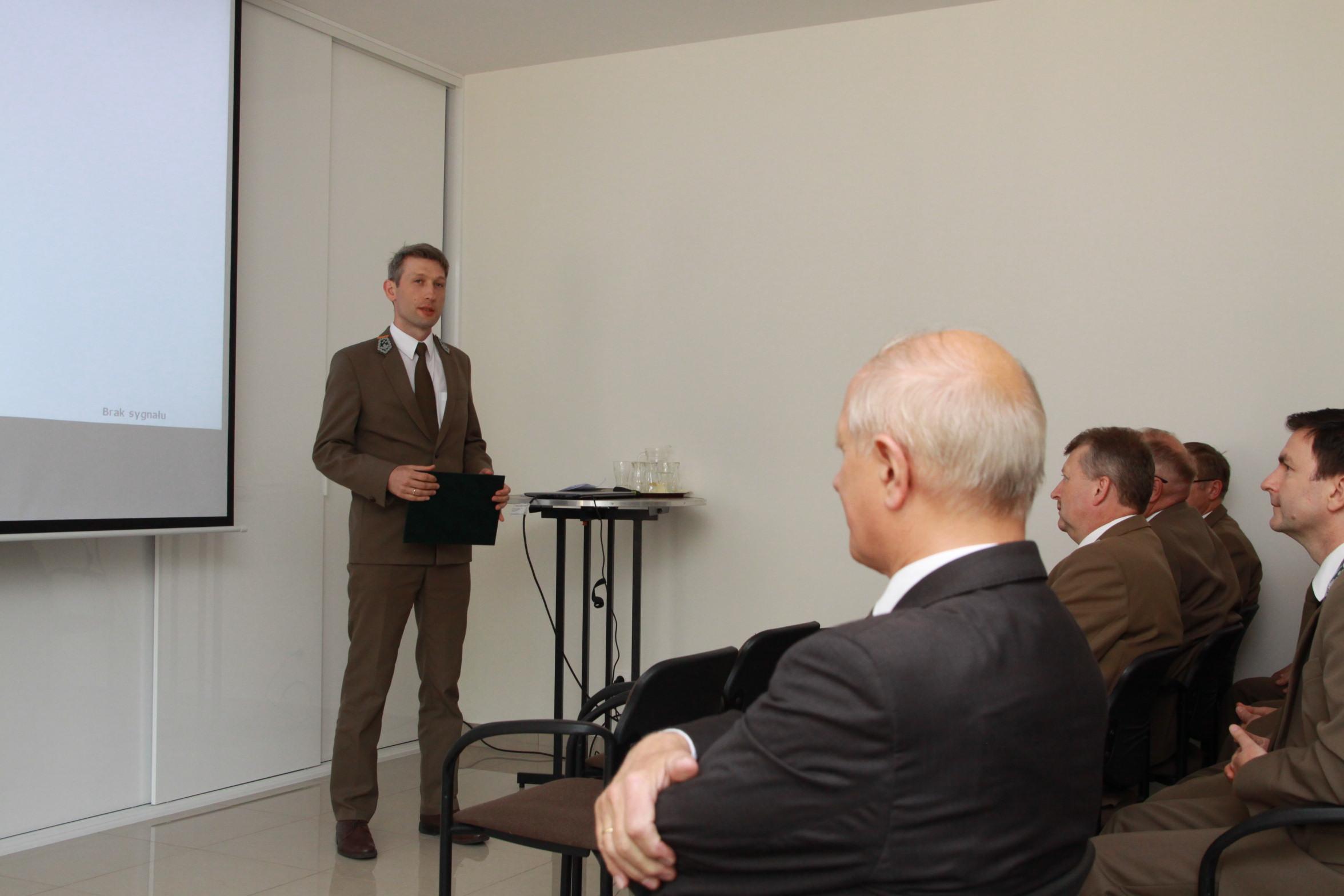 5Wystąpienie Dyrektora RDLP M.Orzechowskiego