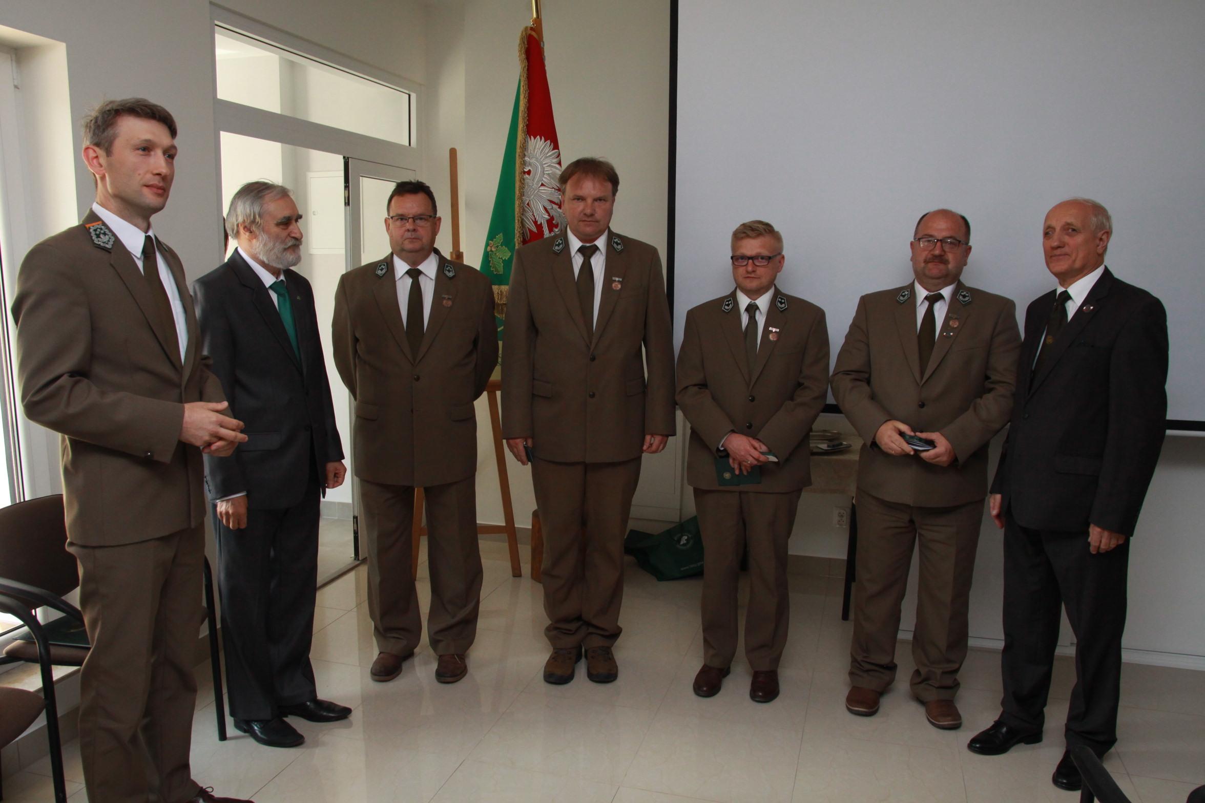 9 Brązowe Odznaki - G.Atraszkiewicz,M.Bierżyński, D.Cholewa, G.Klimek