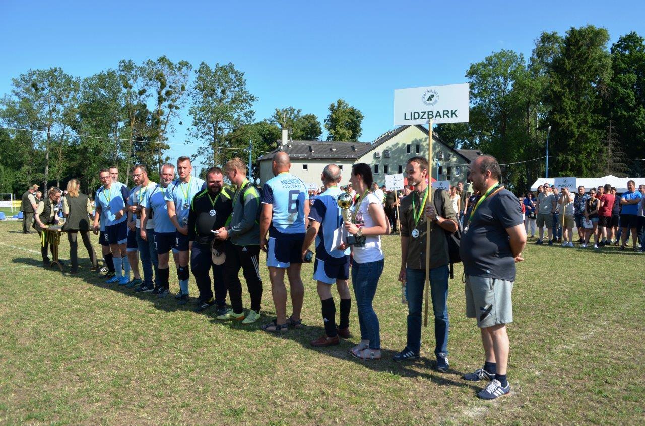 10 II miejsce drużyna Lidzbark