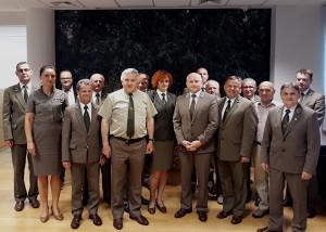 Spotkanie Prezydium RK ZLP w RP z DG LP A. Koniecznym